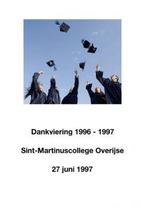 Cantuva Dankviering Sint-Martinuscollege Overijse