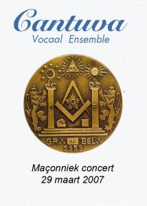 Cantuva Maçonniek Concert