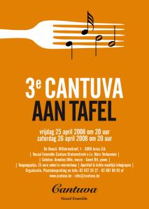 Cantuva aan tafel 2008