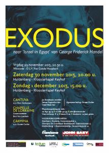 Cantuva Keyhofconcerten Exodus Handel